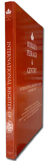 Burke's Peerage & Gentry International Register of Arms Volume 1 & 2